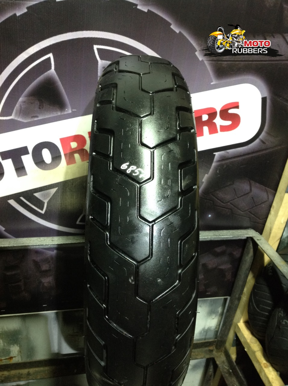 150/90 R15 Dunlop d404 Whitewale